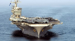 Iranian admiral says US aircraft carriers would be targeted in war