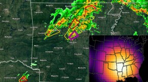 Major HAARP Signals Reported Day Before Tornadoes