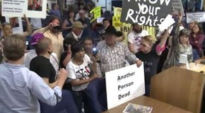 Outraged Albuquerque Citizens Demand Arrest of Police Chief