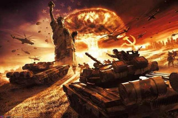 US hegemonic drive makes war with Russia China inevitable