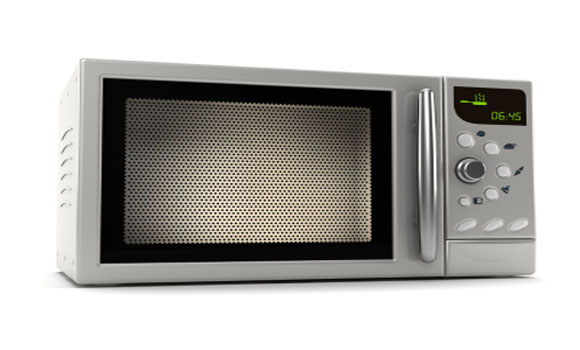 When a Microwave Oven is Running, You Should Be Too