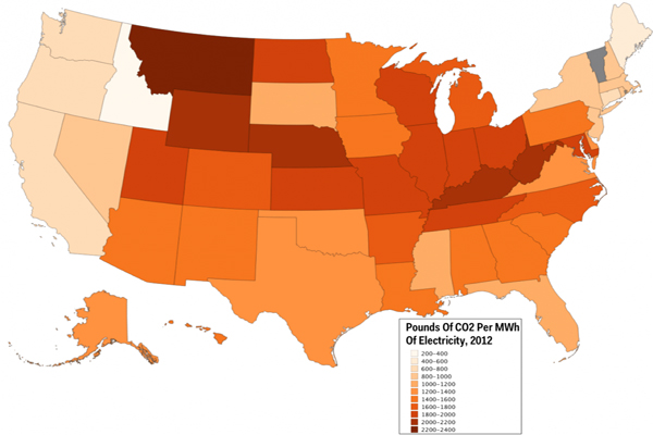 Here's How Obama's New Carbon Rules Affect Each State