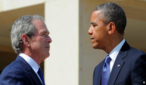 The Most Destructive Presidencies in U.S. History George W. Bush and Barack H. Obama