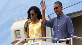 5 months off: Martha's Vineyard break will put Obama over 140 days on vacation