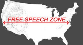 FEDS Set Up Tiny Free Speech Zones Once Again – Are They Insane?