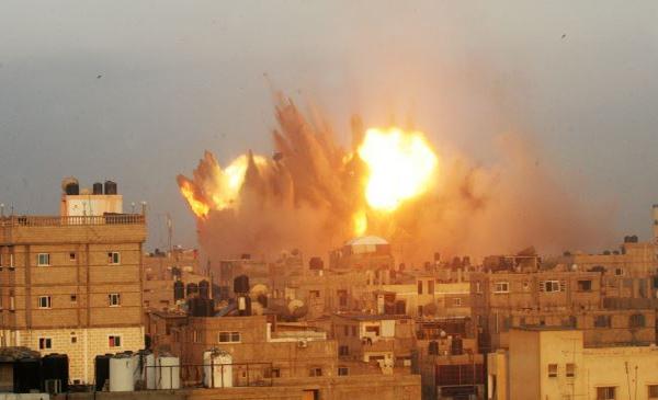 Gaza Israeli commandos 'running like chickens'