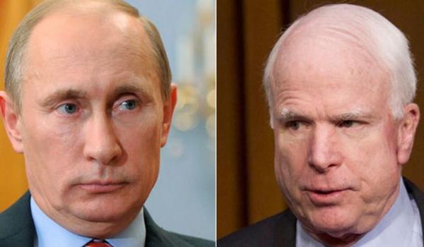 McCain warns Putin over downed Malaysian airplane