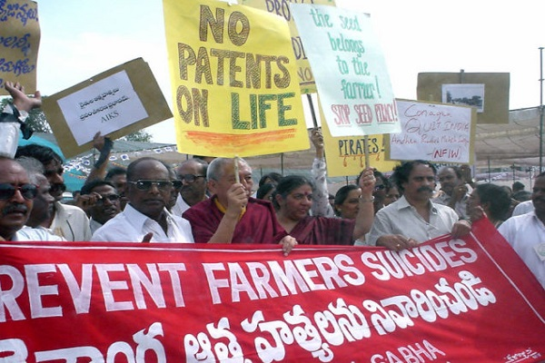Nearly 300,000 suicides in India so far from GMO crop failures