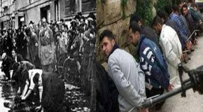 Photos: Similarities between Jewish Holocaust and Palestinian Genocide