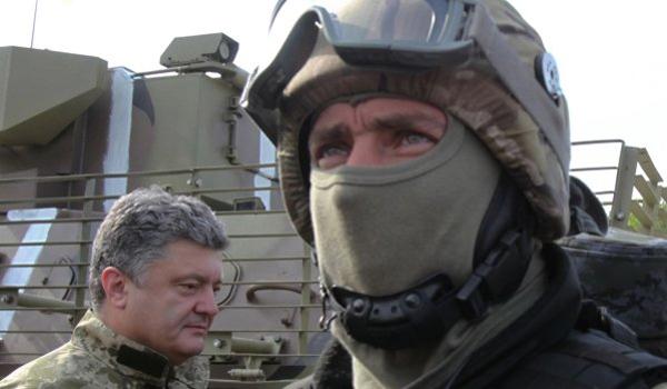 Poroshenko threatens to track down and kill hundreds for each dead Ukrainian soldier