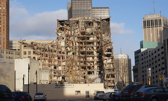 They're bulldozing a fifth of Detroit
