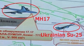 Ukrainian Su-25 fighter detected in close approach to MH17 before crash – Moscow