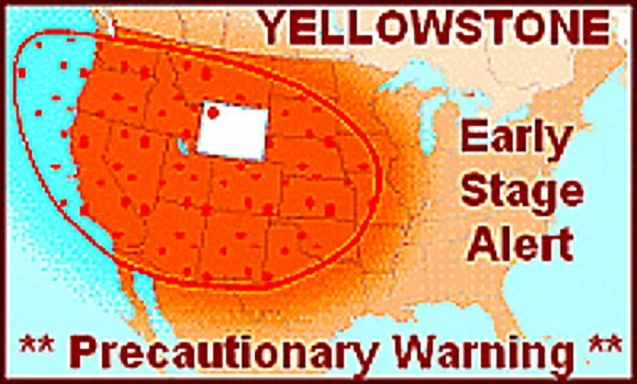 Yellowstone Gas Levels Higher Than Ever Recorded – Impending Eruption Imminent