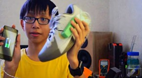 15 Year Old Invents Device That Generates Electricity While You Walk
