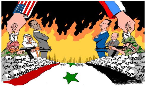 CIA Analyst US War Plan Involves Syria, Turkey, Jordan