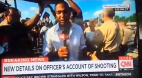 CNN Gets Caught Red Handed Faking It With Police in Ferguson!
