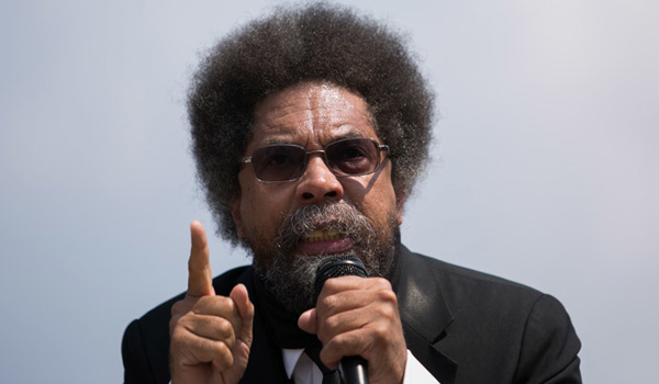 Cornel West slams 'counterfeit' Obama's presidency