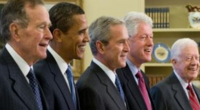 Did Bush move America's presidency 'offshore?'