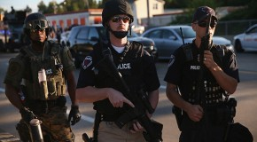 Ferguson cops beat innocent man, then charged him with bleeding on their uniforms