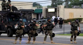 Ferguson shooting: US police armed with 93,763 new machine guns