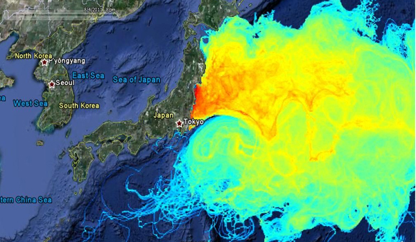 Fukushima Fuel Rod Material All Over Tokyo! Everything in Pacific Dying!