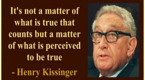 Henry Kissinger on the Assembly of a New World Order