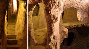 Home owner discovers ancient underground city beneath his house in Anatolia