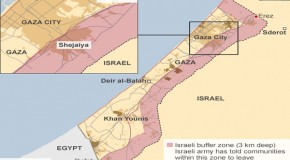 Israel Converts 44% of Gaza Land Into Military Buffer Zone