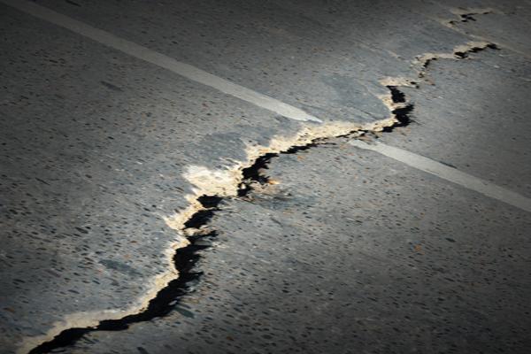 Man-made earthquakes weaker than natural earthquakes of same magnitude
