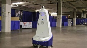 Mass Produced Security Robots Introduced in U.S.