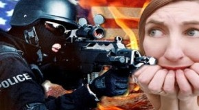 Militarized police occupy USA