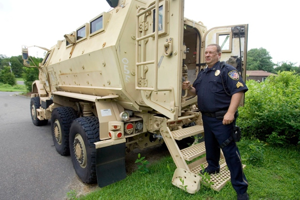More military armored surplus going to police departments