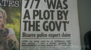 Mossad agent accidentally admits they did 7/7 London bombings