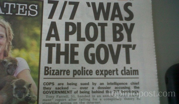 Mossad agent accidentally admits they did 7 7 London bombings