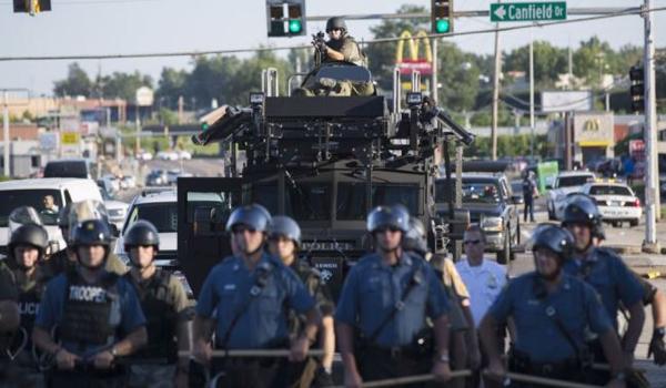 Murder machine Militarized US police