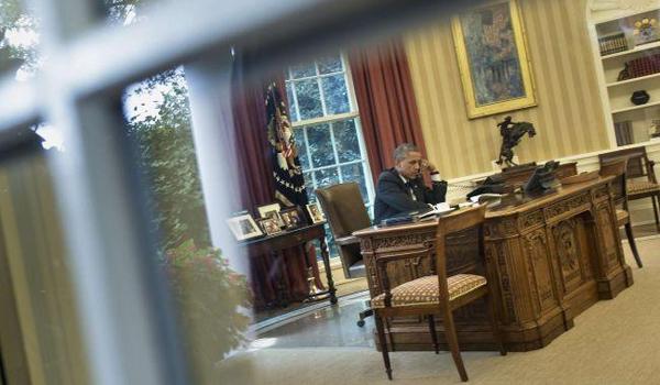 Peace president plots war on Syria