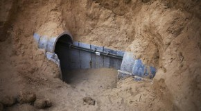 Photos: Media faking footage of Gaza tunnels