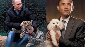 Russian deputy PM mocks Obama by tweeting 'unmanly' photo of president