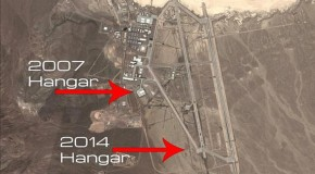 Satellite photos reveal new hangars being built at Area 51, the United States top-secret testing facility