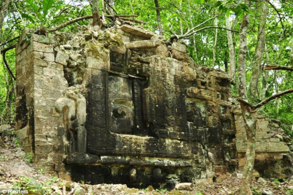 TWO ancient Mayan cities found in the Mexican jungle after three thousand years hidden from humanity