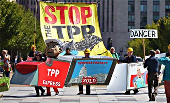 """The Trans-Pacific Partnership Stop the TPP and Other Rigged """"Trade Agreements"""""""