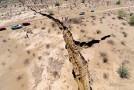 Video – MYSTERY: Giant Earth Crack Opens Up Along Costa de Hermosillo in Mexico