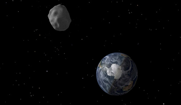 ​Way too close 18-meter asteroid zips between Earth & moon