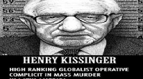 Arrest Kissinger for both 9/11s