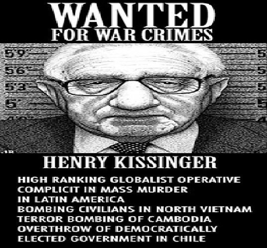 Arrest Kissinger for both 9 11s