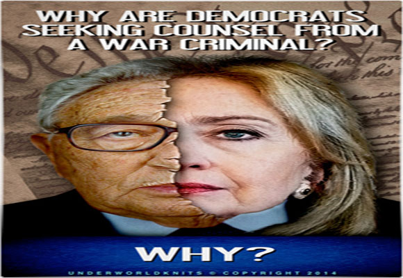 Clinton serves us Kissinger Kool-Aid