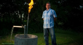 Fracking Company Sues Man For Lighting His Water On Fire