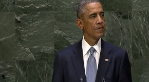 In Speech on Peace, Obama Escalates War Tensions With Russia