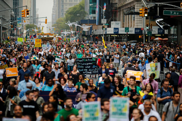 Largest climate march in history - your pictures