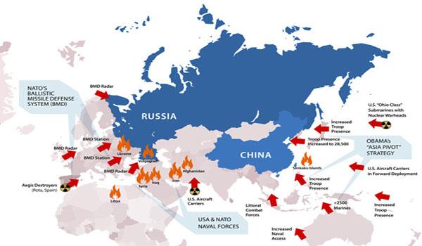 NWO Enforcer NATO Threatens WW III